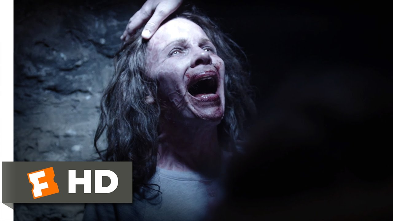 The Conjuring I Condemn You Back to Hell Scene 1010Insidious Ghost Family