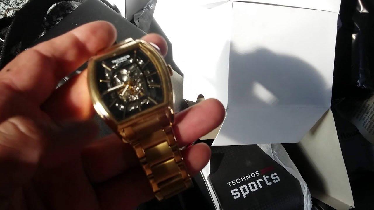 00fee939c47e6 Relógio Technos Mw6808 4p Classic Automático - www.gigastorenet.com.br -  YouTube