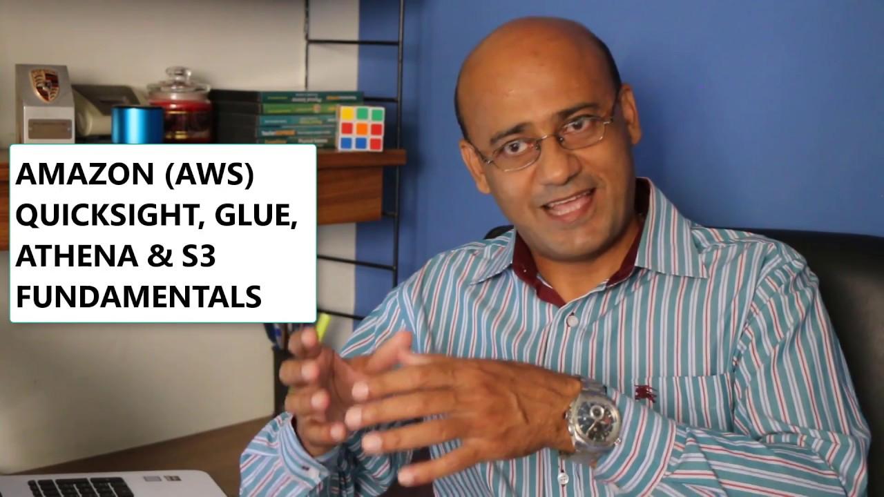 Amazon (AWS) QuickSight, Glue, Athena & S3 Fundamentals