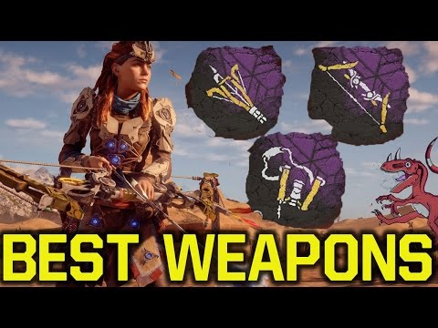 Horizon Zero Dawn tips and tricks - BEST WEAPONS & HOW TO GE
