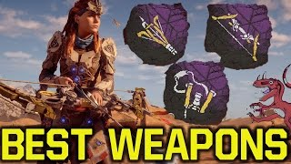 Horizon Zero Dawn tips and tricks - BEST WEAPONS & HOW TO GET THEM (Horizon Zero Dawn tipps)