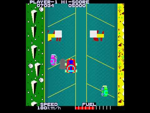Arcade Game: High Way Race (1983 Taito) |