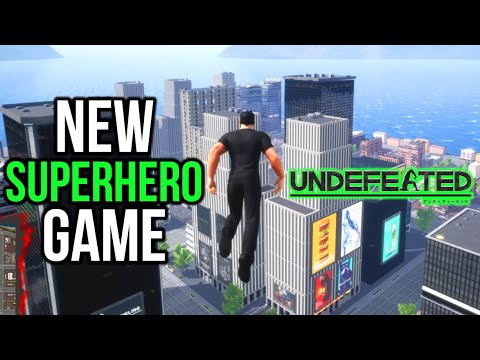 BEST SUPERMAN GAME? - NEW Open World Superhero Game - Undefeated - Free Demo Showcase