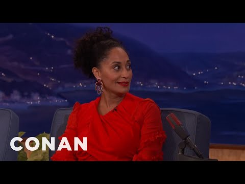 Tracee Ellis Ross Was A Very Rambunctious Child   CONAN on TBS