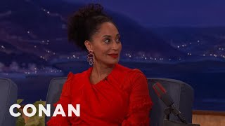 Tracee Ellis Ross Was A Very Rambunctious Child  - CONAN on TBS