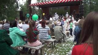 Бумажное шоу, г. Сорск, 2017