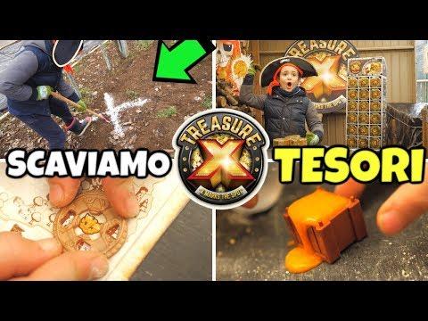 SCAVIAMO 3 TESORI TREASURE X: Unboxing nel Covo dei Pirati
