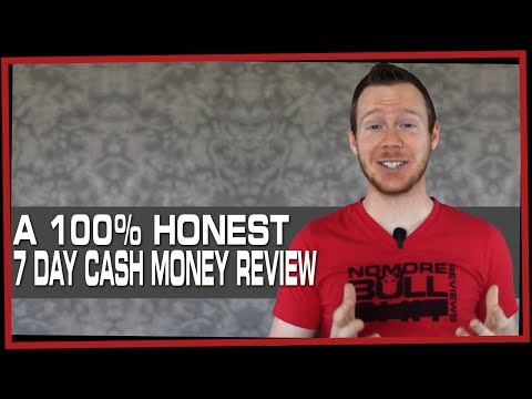 7 Day Cash Money Review: A Confusing Waste of Time and Money