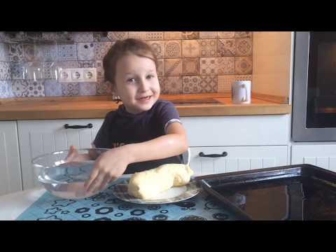 Делаем кокосовое печенье! Простой рецепт для готовки с детьми!
