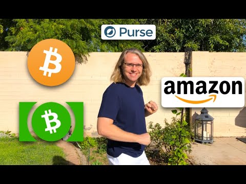 Buy On Amazon With Cryptocurrency! Bitcoin And Bitcoin Cash Accepted Using Purse.io
