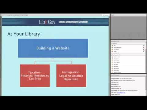 Libraries & E-government