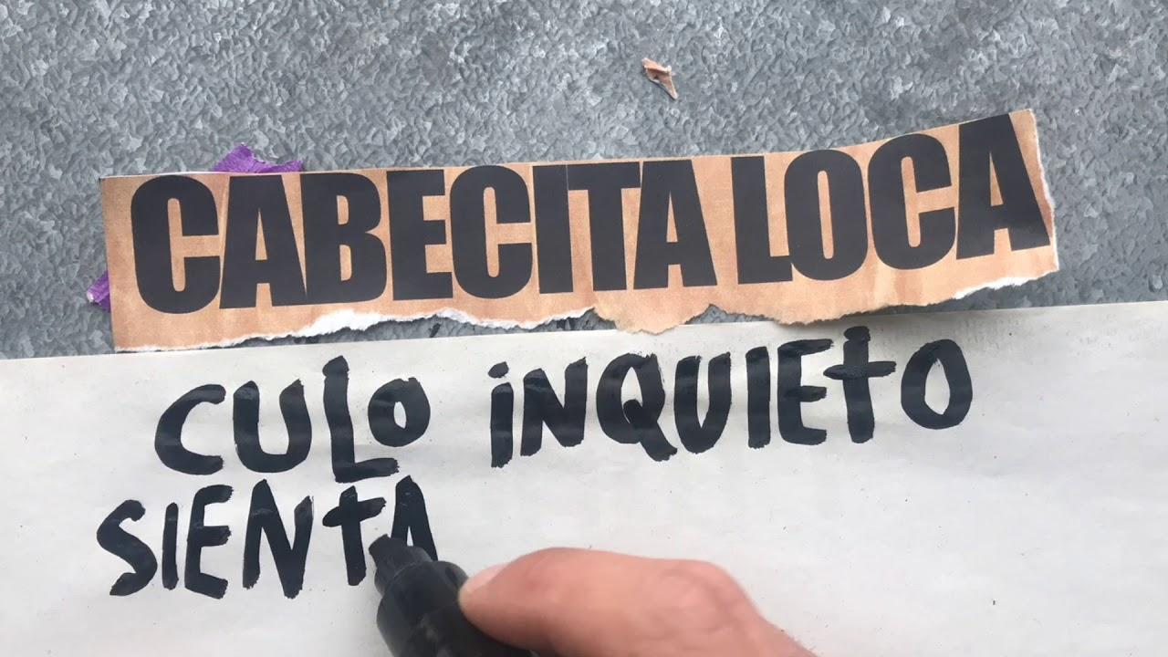 """Mr.Kilombo - """"Cabecita Loca"""" (Lyric video)"""