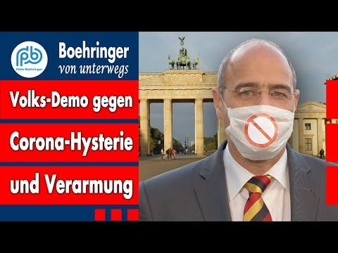 """Aufruf zur Freiheitsdemo 29. August: """"Ich kenne keine Parteien mehr"""" – Boehringer von unterwegs (2)"""