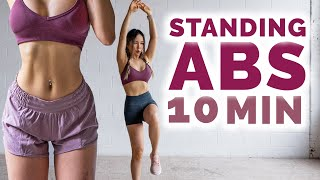 Download 10 Min Standing Abs Workout to get Ripped ABS
