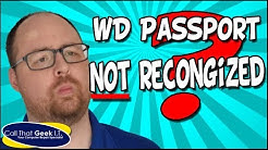 WD Passport Not Recognized [SOLVED]