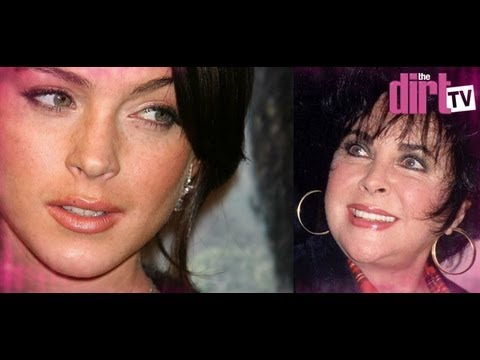 Lindsay Lohan Takes On Liz Taylor! - The Dirt TV
