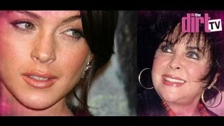 Lindsay Lohan Takes On Liz Taylor! - The Dirt TV
