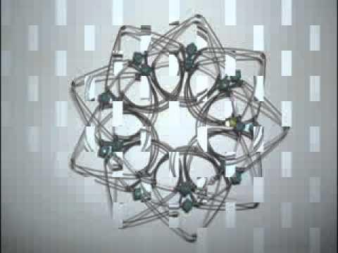 Mandalas en alambre de acero youtube - Alambre de acero ...