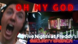 Dawkos funny reaction to FNaF security breach coming to PS5