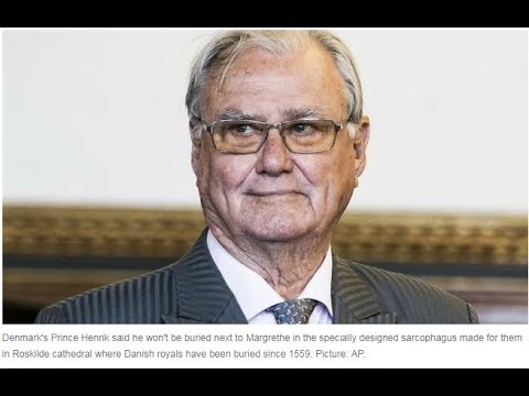 Prince Henrik accuses Danish Queen Margrethe of not showing him enough respect