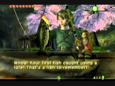The Legend Of Zelda: Twilight Princess - Fishing Special!