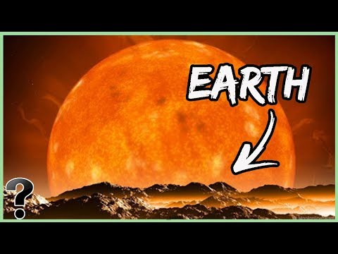 What If Our Sun Was A Red Giant?