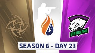 ECS Season 6 Day 23 NIP vs Virtus.pro - Nuke