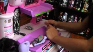 Monster High Create-A-Monster Dolls and Custom Station