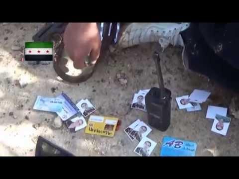 مکالمات بی سیم سپاه پاسداران در سوریه Syria IRGC