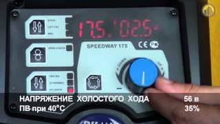 Инверторный сварочный полуавтомат Aurora SPEEDWAY 175(Видеоролик демонстрирующий Инверторный сварочный полуавтомат Aurora SPEEDWAY 175. Для получения более подробной..., 2013-04-30T06:40:23.000Z)