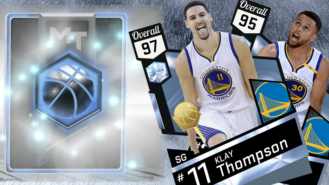 c3f76e10ac2c NBA 2K17 My Team - New Diamond Splash Brothers! Curry   Klay Thompson PS4  Pro