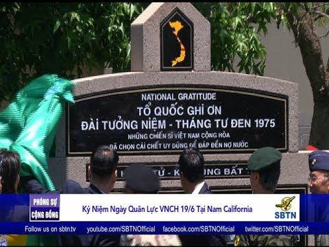 PHÓNG SỰ CỘNG ĐỒNG: Kỷ niệm ngày Quân Lực VNCH và khánh thành đài tưởng niệm Tháng Tư Đen