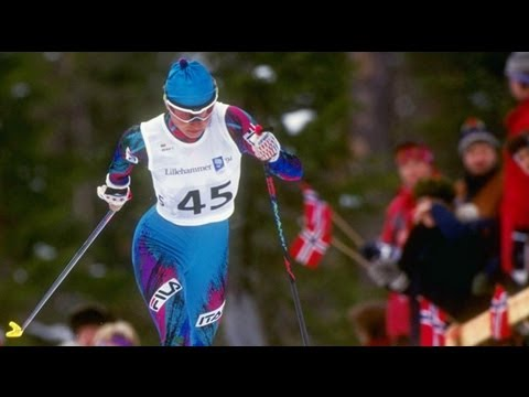 Manuela Di Centa Wins Medals In All Ski Distances - Lillehammer 1994 Winter Olympics