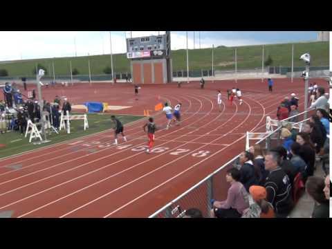 Anthony Vera 4-17-15 4x200 District 26-6A Track Meet