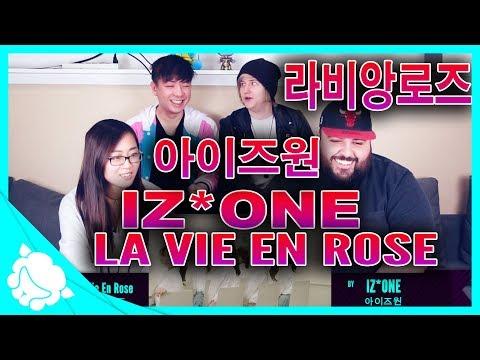 IZ*ONE (아이즈원) - 라비앙로즈 (La Vie en Rose) REACTION