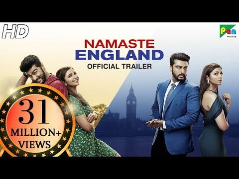 Namaste England | Official Trailer | Arjun Kapoor, Parineeti