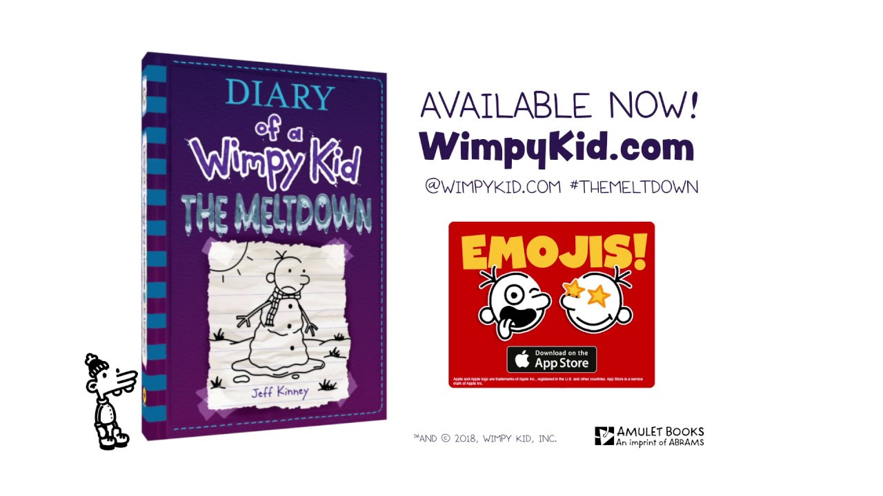 The Meltdown Diary Of A Wimpy Kid Book 13 Is Available Now Youtube