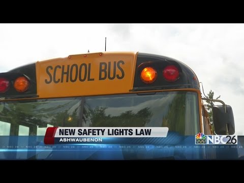 NBC26 Live at 6:00 - Bus Warning Light Regulation