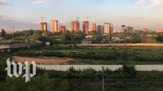World Cup fans, card games and moonshine: Aboard the train bringing Russia to the world stage