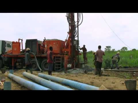Water well drilling in Togo- Dando