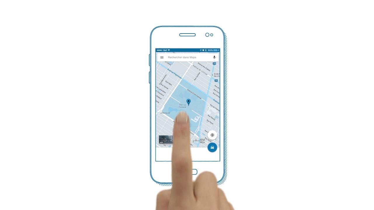 localisation gps dun telephone portable