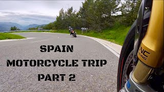 SPAIN 2018 MOTORCYCLE TRIP PART 2, Featuring - Ducati, KTM, Aprilia, BMW & Honda
