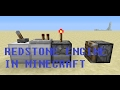 How to Make Simple Redstone Engine in Minecraft