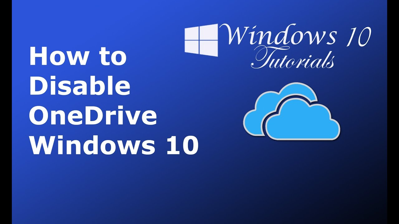 how to turn onedrive on in windows 10