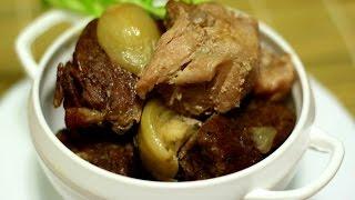 Это мясо тает во рту. Нежнейшая свинина, приготовленная в горшочках