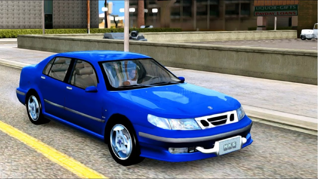 saab 9 5 sti twin turbo gta mod youtube. Black Bedroom Furniture Sets. Home Design Ideas