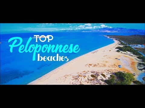 Top Peloponnese beaches ✽ Greece