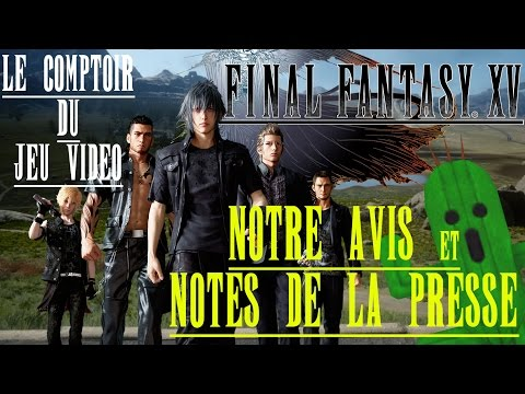 Final Fantasy XV : notre avis et accueil de la presse