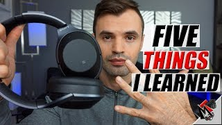 FIVE TIPS on the SONY WH-1000XM2 - Best noise cancelling headphones