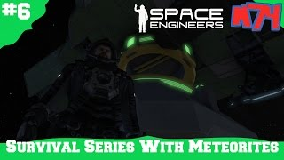 Space Engineers Survival Series: Connectors And Transfers [S1E6]